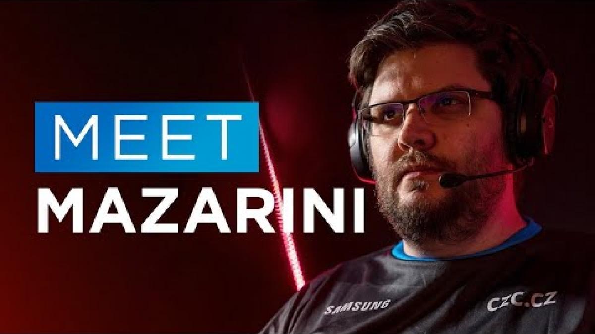 "Embedded thumbnail for Meet Nikolai ""Mazarini"" Lazarev | Valorant rozhovor"