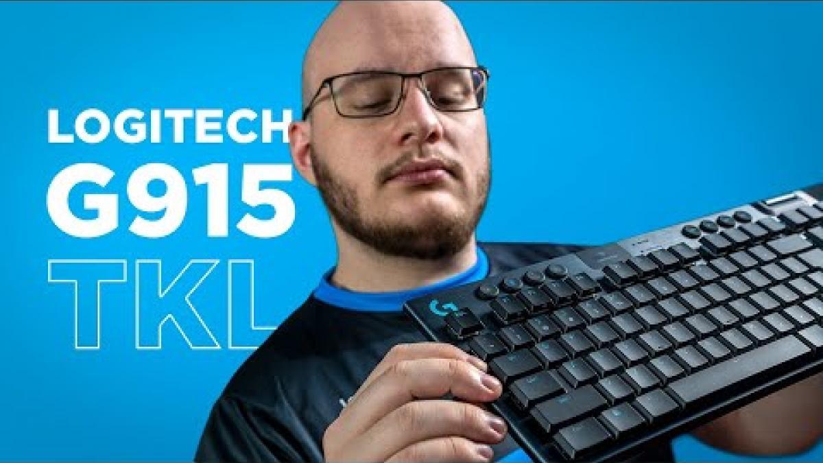Embedded thumbnail for Klávesnice Logitech G915 TKL s Orinnem | RECENZE