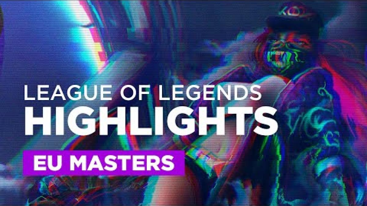 Embedded thumbnail for European Masters Main stage 1/2 | LoL Highlights
