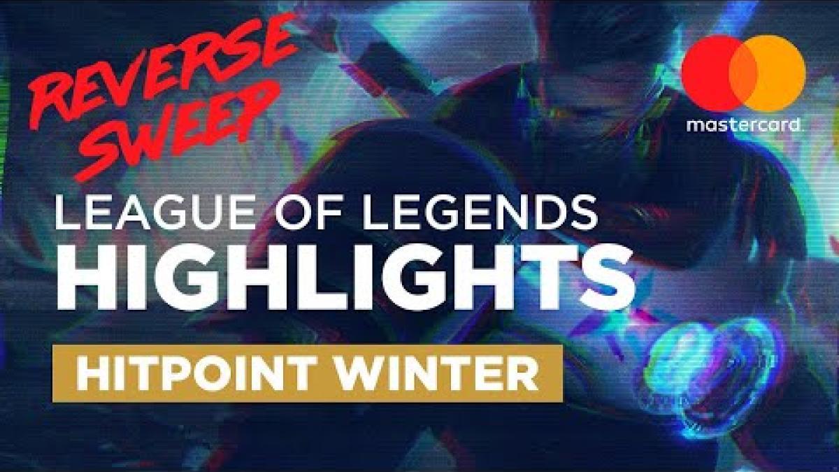 Embedded thumbnail for Ultimátní sestřih finále Hitpoint Winter | LoL Highlights