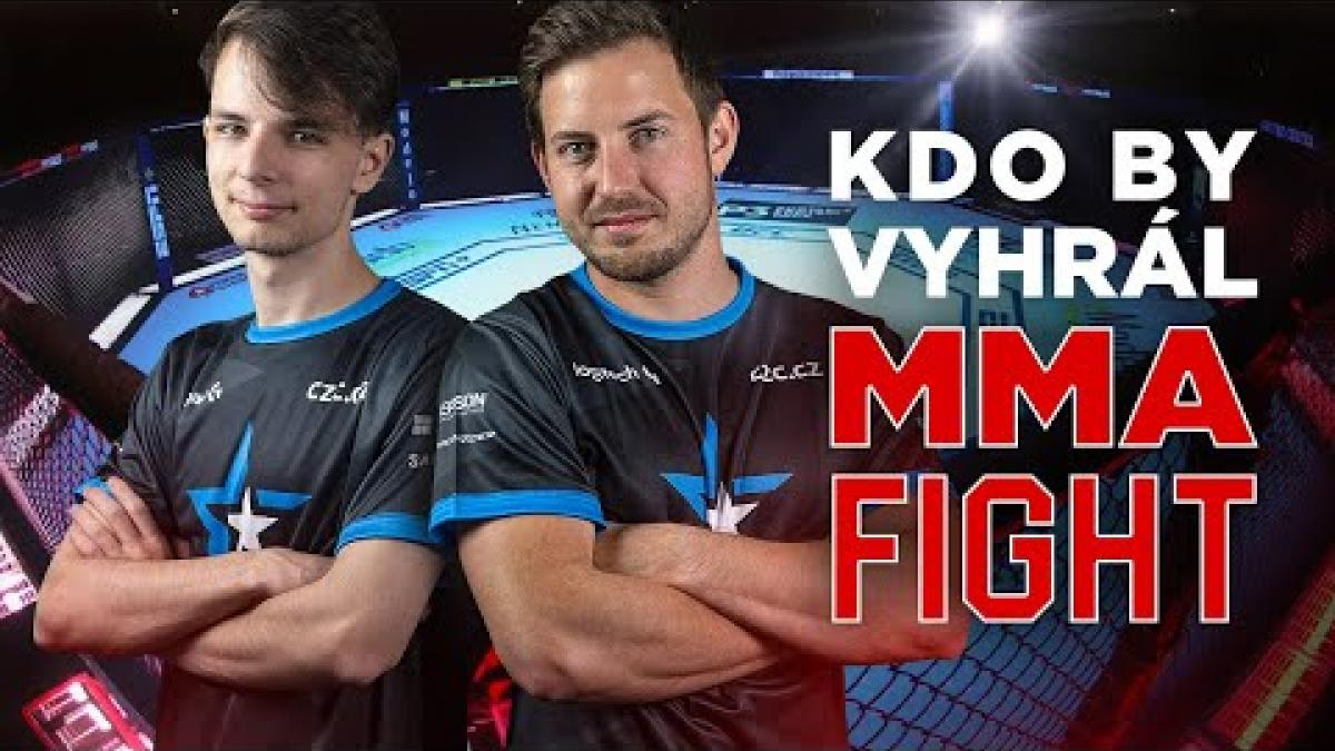 Embedded thumbnail for Kdo by vyhrál MMA fight?! | CS:GO team