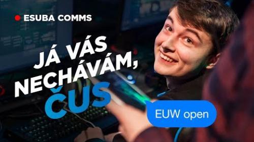 "Embedded thumbnail for ""Já vás nechávám, čus"" | ESUBA COMMS #3"