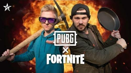 Embedded thumbnail for PUBG a FORTNITE