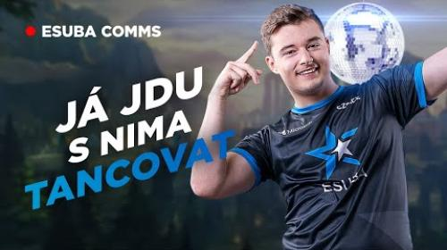 "Embedded thumbnail for ""Já jdu s nima tancovat"" | ESUBA COMMS #22"
