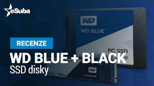 Embedded thumbnail for WD BLUE + BLACK SSD disky s Pratelickem